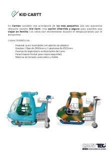 CARTTEC KID CARTT. Airport cart