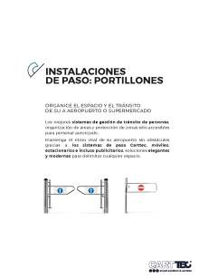 CARTTEC pass installations Catalog