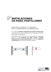 CARTTEC pass installations Catalog