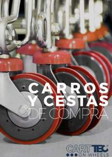 CARTTEC RETAIL. Supermarket trolleys and baskets. 2019 Spanish Catalog