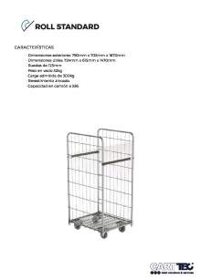 CARTTEC  Standard. Roll container