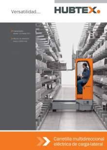 Catálogo de carretillas elevadoras laterales multidireccionales HUBTEX
