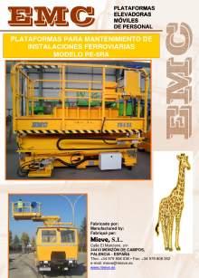 Catálogo EMC PE-5RA. Plataformas para mantenimiento