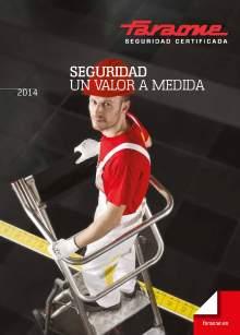 Catálogo de escaleras y andamios FARAONE y ESCALIBUR