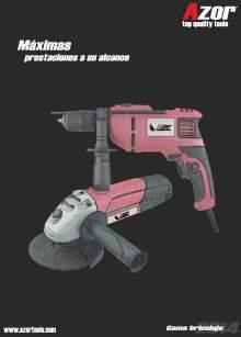 Catálogo general de AZOR TOOLS 2014