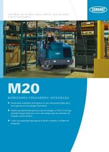 Catálogo TENNANT M20 Barredora-fregadora integrada de conductor sentado