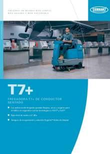 Catálogo TENNANT T7+ Fregadora de suelos de conductor sentado