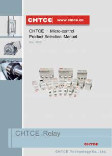 CHTCE. Micro-control product selection manual