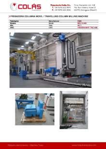 CME MQ-1200. Travelling column milling machine.