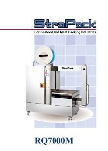 COMOSA STRAPP RQ7000M. Side-Seal Model for Seafood and Meat Packing Industries.