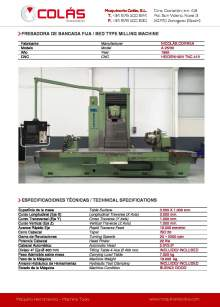 CORREA A 25/30. Bed type milling machine.