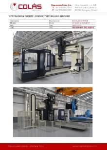 CORREA FP 40/40 S ATC UDG. Bridge type milling machine.