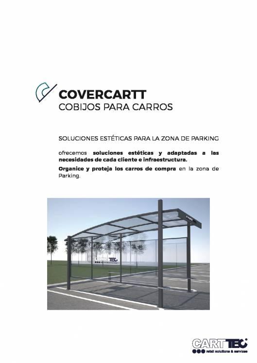 Catalógo de parking cubierto para carros de supermercado COVERCARTT 1