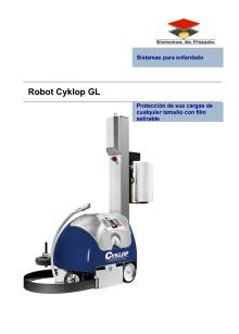 Cyclop GL. Robot enfardadora