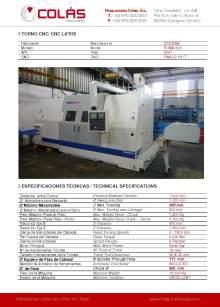 DOOSAN PUMA 600. CNC lathe
