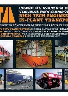 DTA Catalog. In-plant transportation