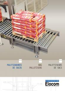 ELOCOM. Bag palletisers