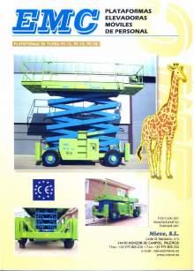EMC PE 12-15-18 catalog. Self propelled scissor lifts