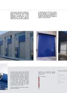 Enalflex. Industrial Aluminium Doors.