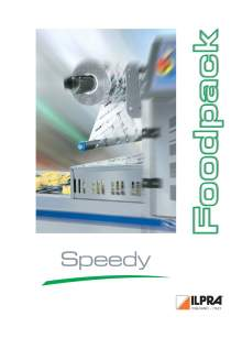 FP SPEEDY Catalog. Medium production automatic heat sealer machines
