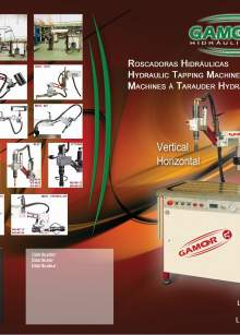 GAMOR Hydraulic tapping machines catalog