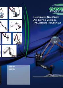 GAMOR pneumatic tapping machines catalog