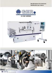 GER CI-CNC. Internal grinders