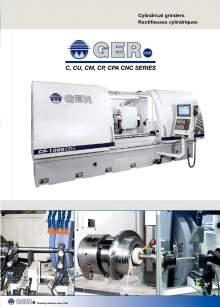 GER. Cylindrical grinders