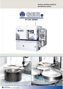 GER RT-CNC. Surface grinding machines with rotary table