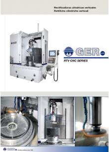 GER RTV. Vertical cylindrical grinders