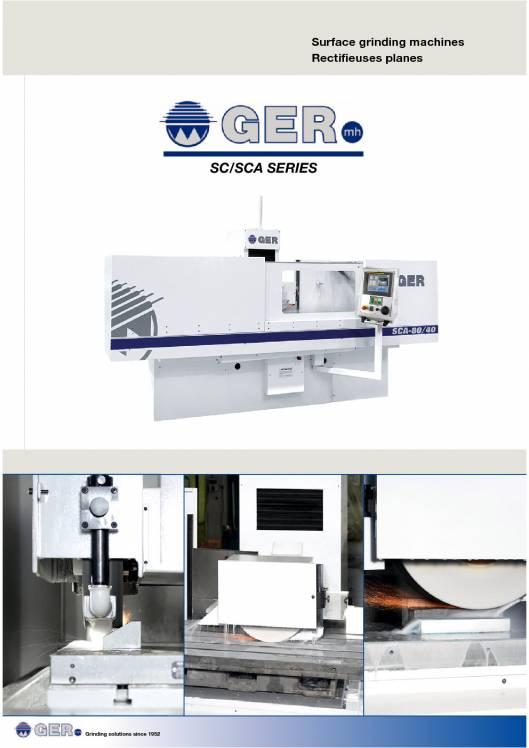 GER SC-SCA. Rectificadoras de superficies planas 1