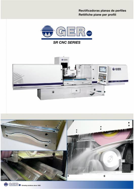 GER SR-CNC. Rectificadoras planas de perfiles 1