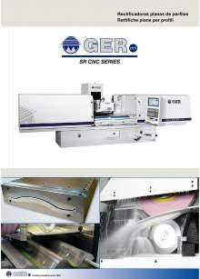 GER SR-CNC. Surface Grinders with profiles