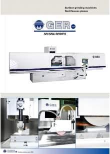 GER SR-SRA. Grinding of flat surfaces