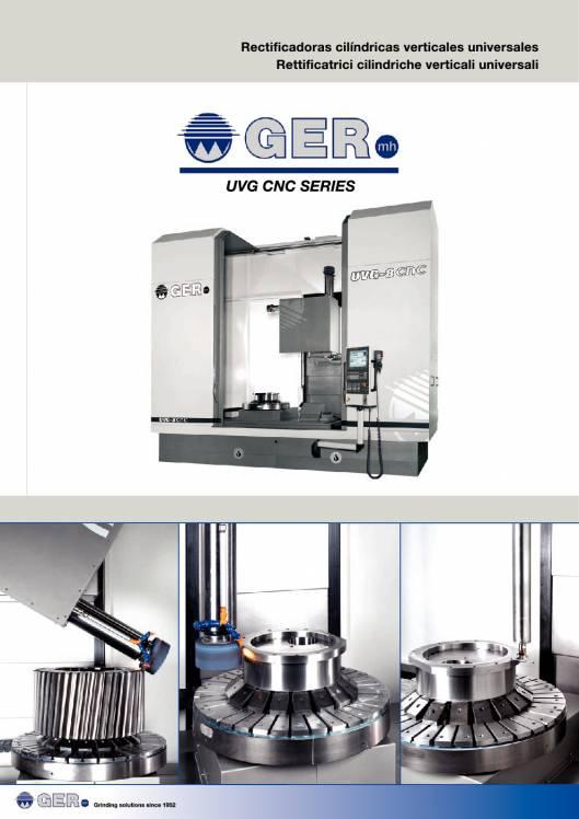 GER UVG-CNC. Rectificadoras cilíndricas verticales universales 1