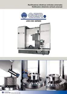 GER UVG-CNC. Universal vertical cylindrical grinders