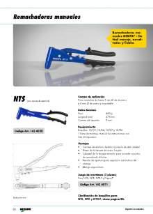 GESIPA. Hand riveter gun