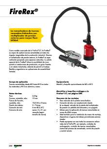 GESIPA. Remachadora-FIREREX-GESIPA-Tuercas-Remachables-para-integrar-en-Robot.
