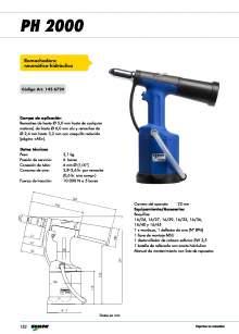GESIPA. Remachadora-Neumatica-PH2000.