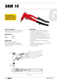 GESIPA.Remachadoras-Manuales-Tuercas-Remachables.