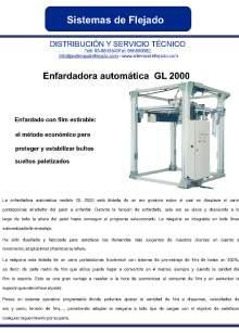 GL 2000. Enfardadora