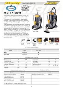 HIPERCLIM. M-21.Spray-extraction cleaner
