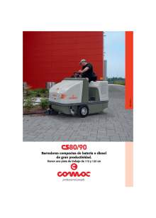HIPERCLIM. COMAC C-80. Air sweeper.