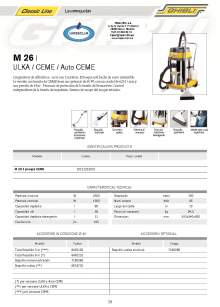 HIPERCLIM. GHIBLI  M 26. Spray-extraction cleaner
