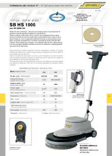"HIPERCLIM. GIBLI.  16"" high speed single-disc machine"