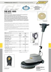 "HIPERCLIM. GIBLI.  16"" high speed single-disc machine"