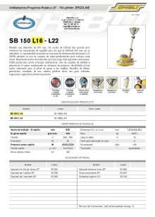 "HIPERCLIM. GIBLI. Polishing machine-Scrubber-Rotary 20"" - 154 giri/min. ERGOLINE"