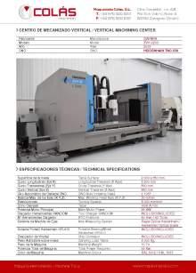 IBARMIA ZVH 55 L2200. Vertical machining center