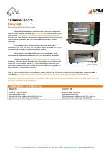 ILPRA  EasyCut. Termoselladora semiautomática