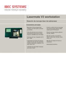 Lasermate Workstation V3. Marcador de láser de fibra óptica.
